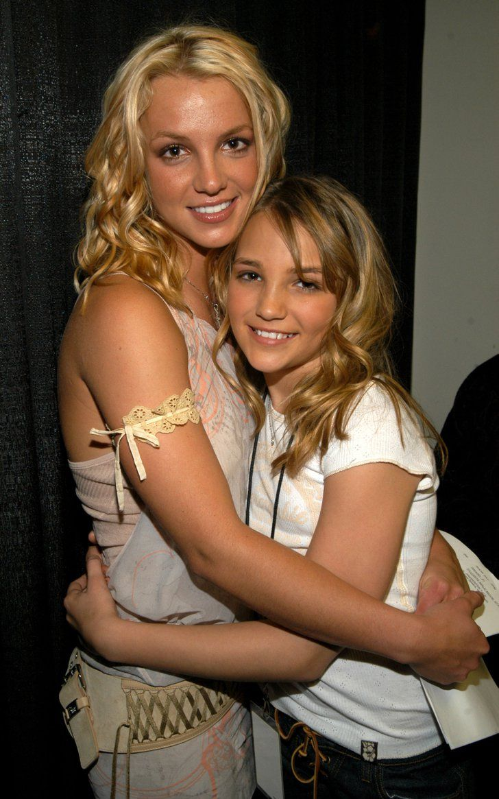 Pin for Later: 37 Famous Sister Sets to Help You Celebrate Sister's Day Britney and Jamie Lynn Spears