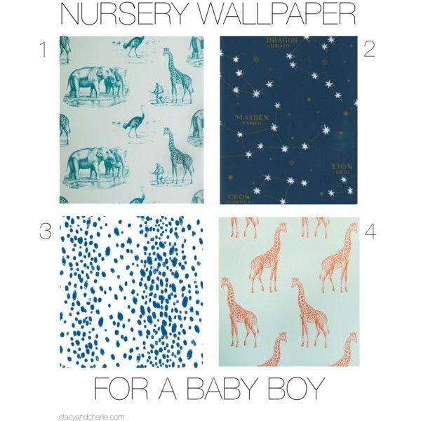 Baby Boy Nursery Wallpaper Color Pinterest And Nurseries