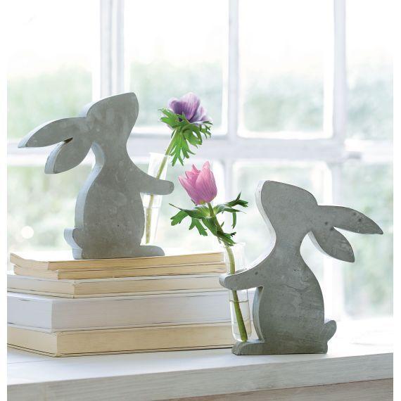 Deko-Figur, Minivase Hase Vorderansicht