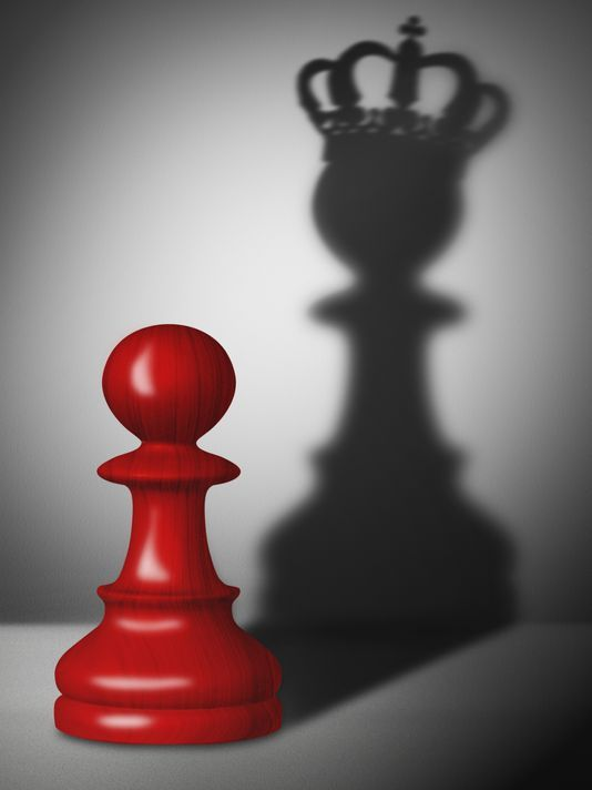 """4) In chess, pawns are often viewed as insignificant, weak and expendable. However, despite their weaknesses, pawns can can drastically change the outcome of a game. Prospero is similar to a pawn in the sense that he could be viewed as weak, as he is an old man, and he was discarded by a higher power, much like how pawns are often discarded. In the end, though, he cornered the opposing king much like """"insignificant"""" pawns can do if played correctly."""