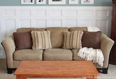 How To Fix a Saggy Sofa - We bought our couch at Ashely Furniture almost 6 years ago. I still really like couch, but a couple months ago I couldn't help but not…