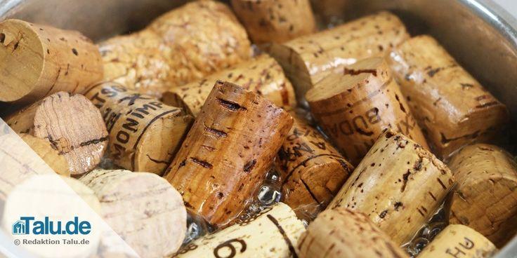 Schmeißen Sie Korken nicht weg! Weinkorken sind ein perfektes und dekoratives Bastelmaterial, mit dem sich tolle Dinge kreieren lassen. Unsere Ideen: