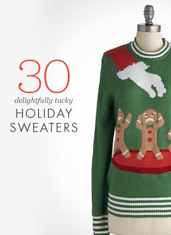 Rustyzipper ugly christmas sweaters