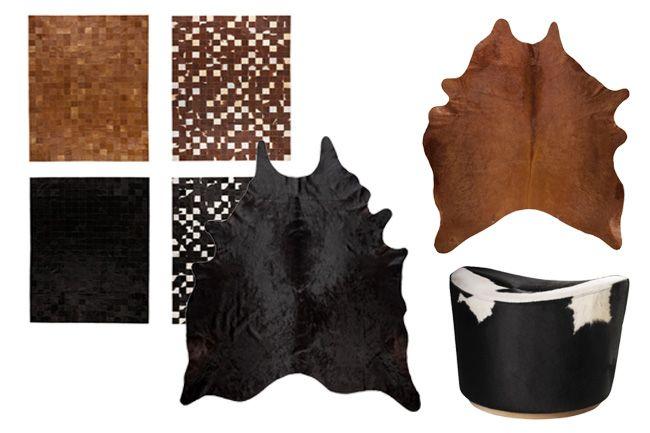 Favorite Cowhide Pieces from IKEA | Horses & Heels