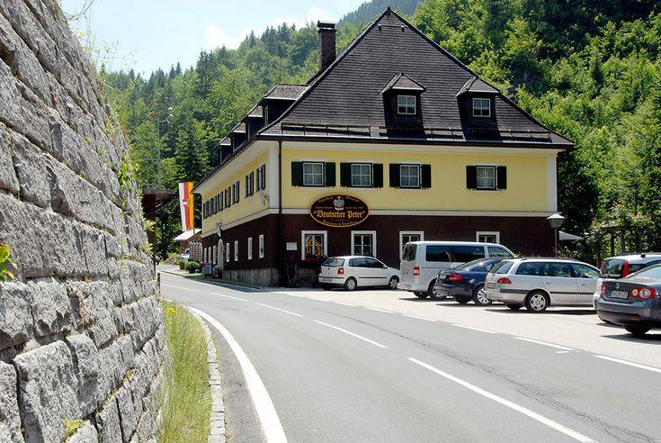 Deutschmark Peter Restaurant & Gasthaus - Klagenfurt, Austria (Here is where you get the pine needle schnapps)
