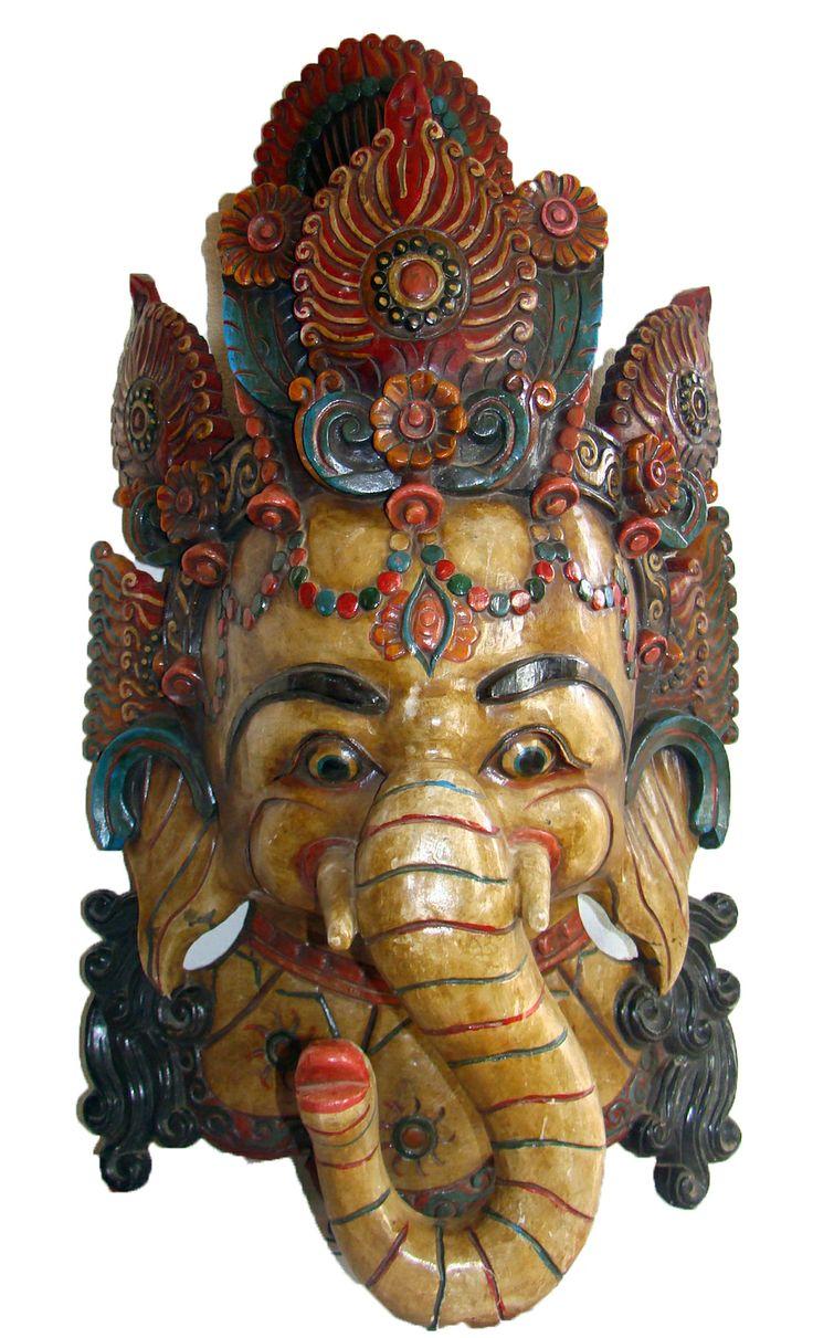 ganesh mask huge
