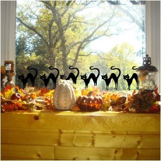1000 images about fall window decorations on pinterest - Window decorations for fall ...