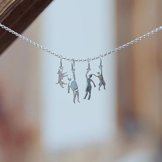 Worldwide shipping takes 12-18 days! To get it on Mother Day 2017, please order it before 20 of April!  And any combinations available) Its was my unique design of modular pendants. The idea dear people who hanging on our neck Its perfect present for any occasion from wedding till new baby.  Family necklace set: husband, daughter, and cat. Also you can order different characters what in your family according to this listing in quantity 3 or 4 figures. Just mark it in the note to me (this set…