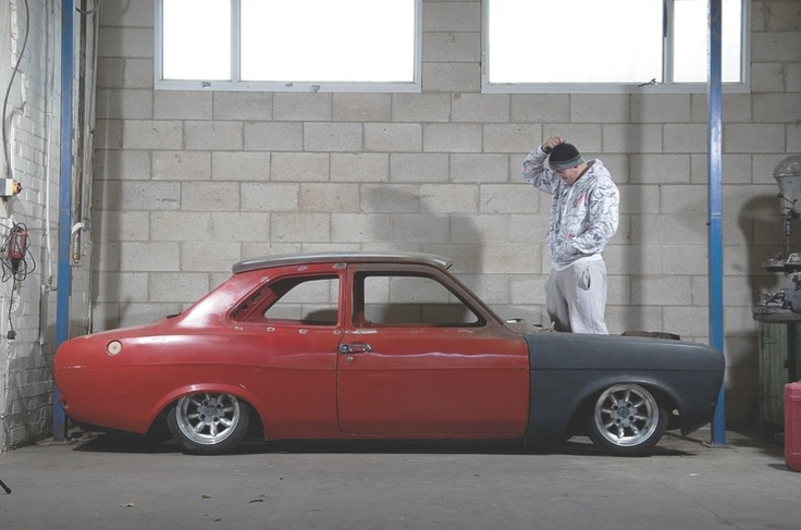 Ben's dropped Mk1 Escort project. Taken from the March 2012/Readers' Projects Special issue.