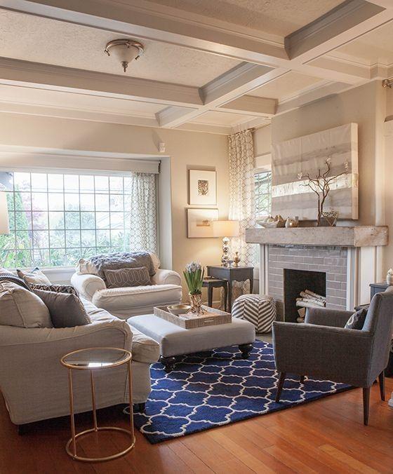Marineblau Wohnzimmer Dekor Wohnen Deko Living Room Room Und