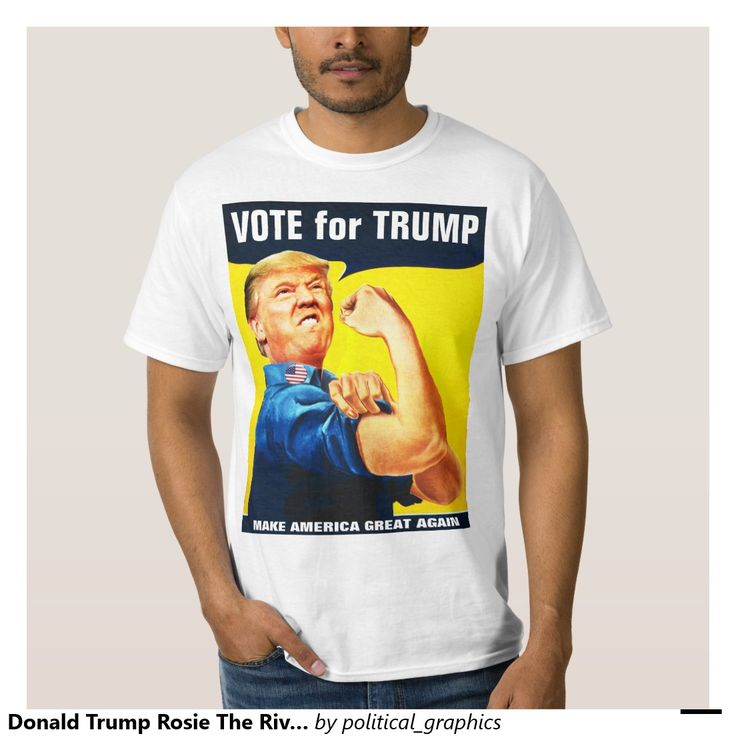 Donald trump rosie the riveter personalized messag tshirt for Donald trump tattoo shirt