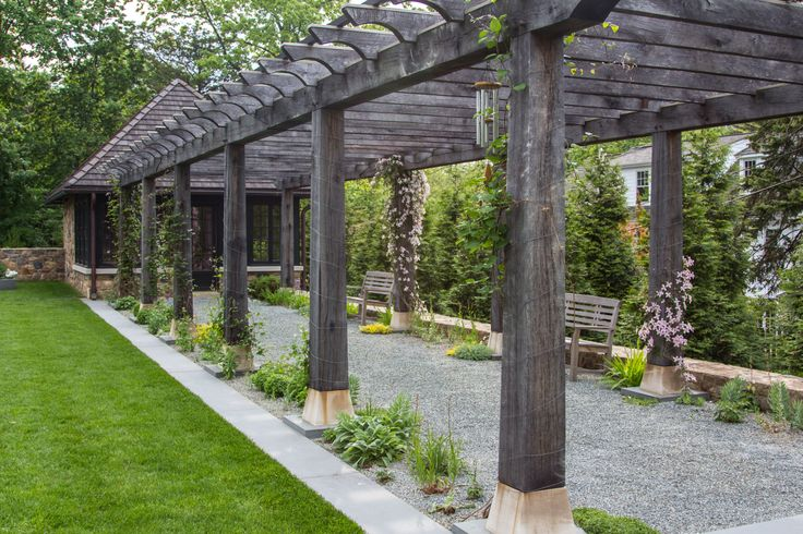 45 best structures in the garden images on pinterest for Jonathan alderson landscape architects