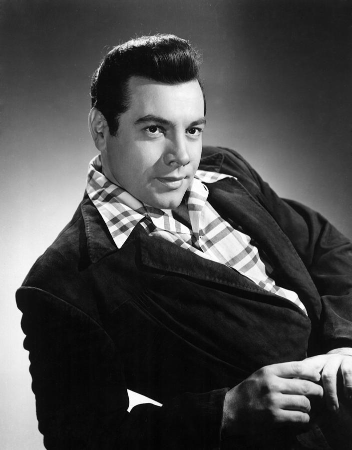Alfredo Arnoldo Cocozza, de nombre artístico Mario Lanza fue un tenor y actor estadounidense. (foto:1955)