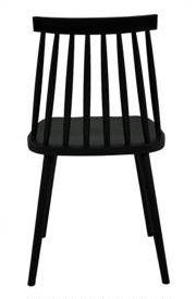 Silla Windsor Negra - Comprar en INTEGRAL DECO