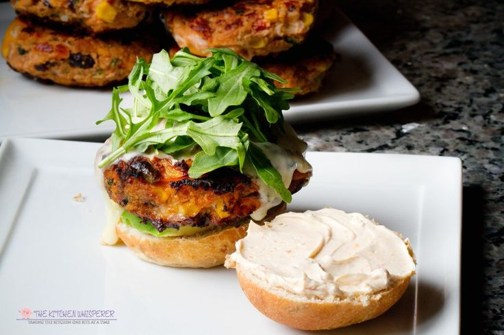 Veggie Sweet Potato Garden Burgers...Whether you're a veggie-loving beast or full on meat-craving carnivore these Veggie Sweet Potato Garden Burgers will definitely please! Meatless Monday never tasted so delicious!
