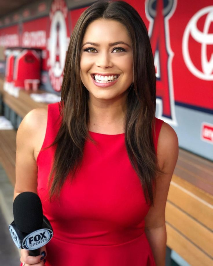 Pin on Female Sideline Reporters
