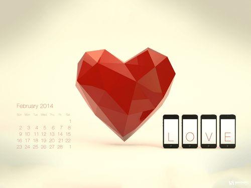 valentine day desktop wallpaper