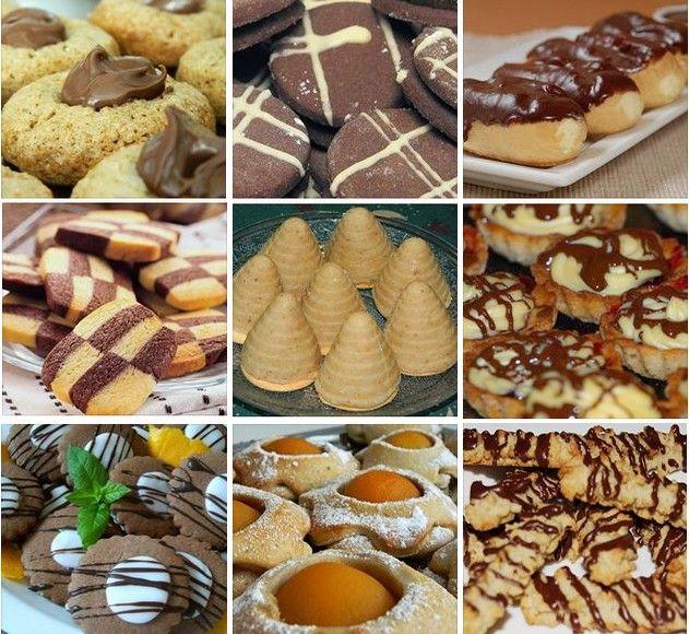 Množstvo skvelých receptov na sladké pečivo, keksy a iné dobroty zo stránky NAJLEPŠIE pozbierané RECEPTY...