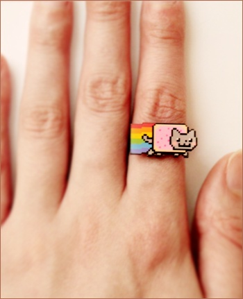 nyan cat ring