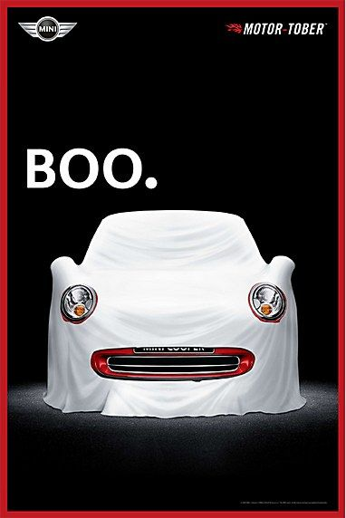 This ad is appealing because the car looks like a cute ghost, and makes you want to know how it really looks like.