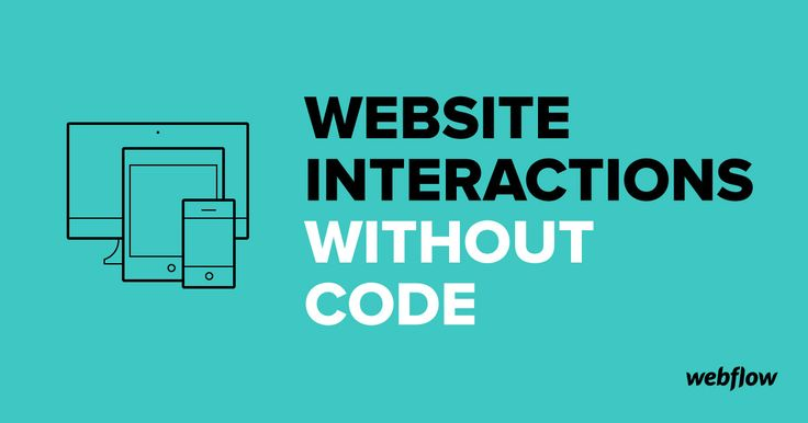 No more messing around with jQuery code snippets. Design your own interactions and animations without writing a line of code using Webflow Responsive Website Builder.