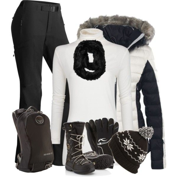 Ski Bunny, created by cnh92 on Polyvore