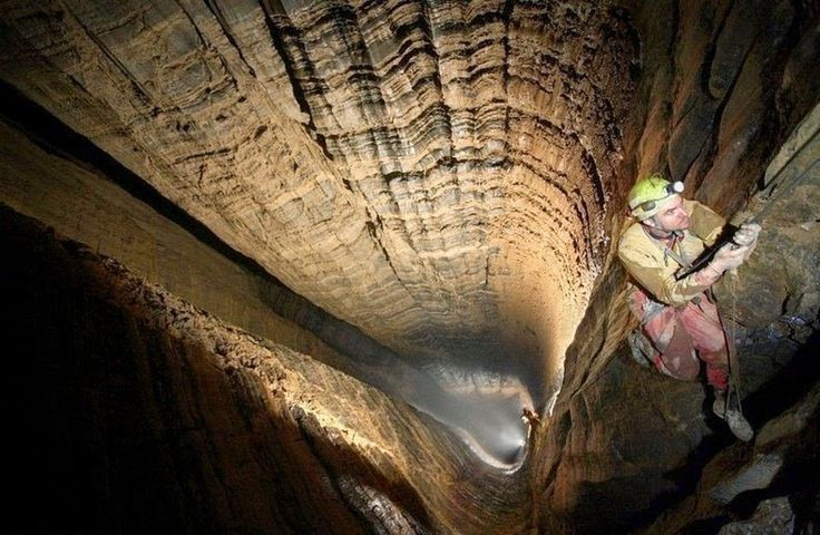 Krubera Cave is the deepest known cave on Earth. It is located in the Arabika Massif of the Gagra Range of the Western Caucasus, in the Gagra district of Ab