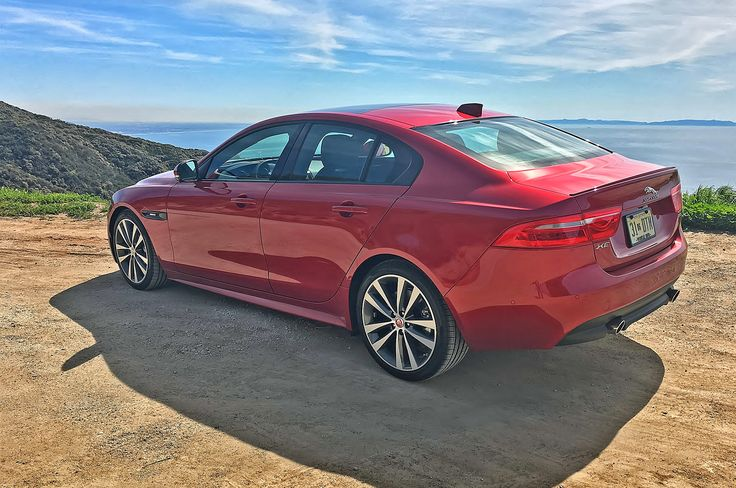 The up-level 2017 Jaguar XE 35t R-Sport version features a blown twin-cam 3.0-liter six like the BMW 340i (though the Jag uses a mechanical supercharger instead of a turbo) and is only fractionally longer and wider