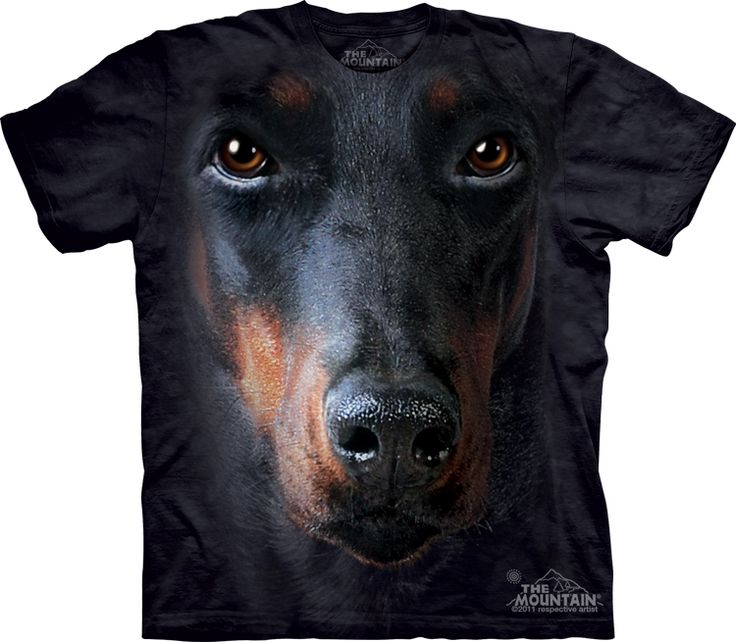 Doberman Face T-Shirt