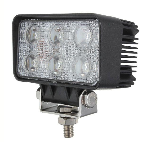 [US$37.65] 18W 6LED Spot work Lamp Light Off Roads For Trailer Off Road Boat  #6led #boat #lamp #light #road #roads #spot #trailer #work