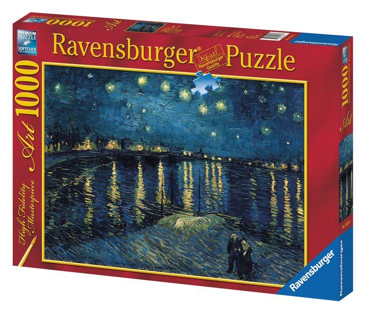 Van Gogh: Notte stellata sul Rodano   Puzzle da Adulti   Puzzle   Prodotti   IT   ravensburger.com