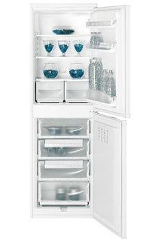 Refrigerateur congelateur en bas Indesit CAA55