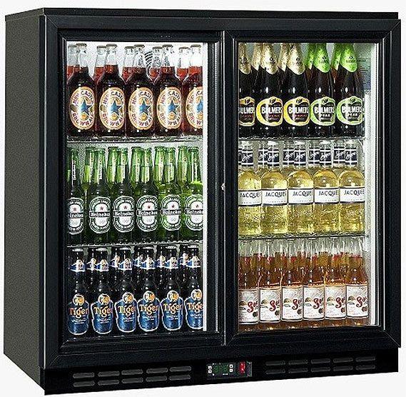 Bottle Cooler Glass Door Refrigerator Bar Fridges Bottle Coolers