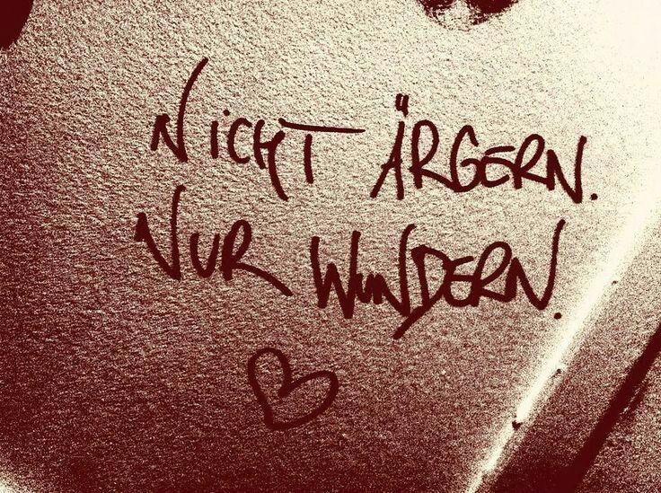 Ärgern bringt nichts, aber wenn Du Dich ärgerst, äregere Dich nicht über Deinen Ärger! :)