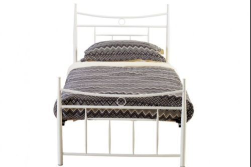 White King Single Bed Frame And Mattress