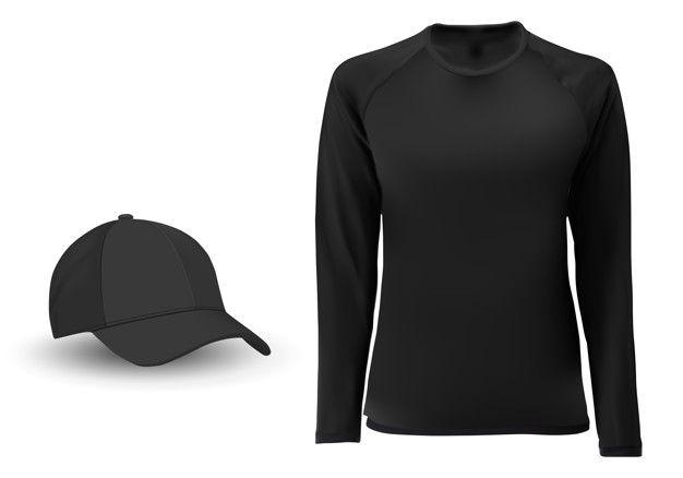 Download Long Sleeve Tshirt Blank Long Sleeve Tshirt T Shirt Design Template Sleeves