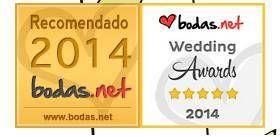 Hoy estamos de enhorabuena, gracias a tod@svosotros hemos sido uno de los ganadores de los Wedding Awards 2014. Es un premio que otorgan las parejas gracias a sus recomendaciones y otorga un signo de excelencia y calidad en el sector de las bodas. Muchisimas gracias a tod@spor vuestras amables palabras que nos animan a seguir. &nb...