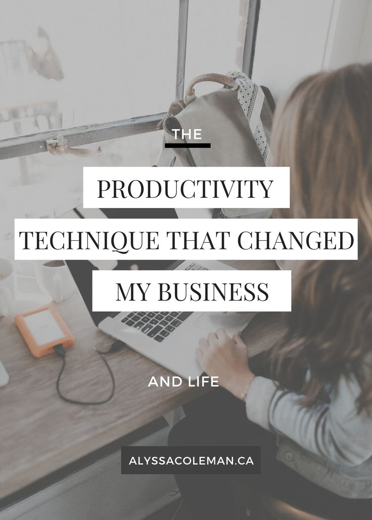 Use time blocking as your secret weapon to change your business?