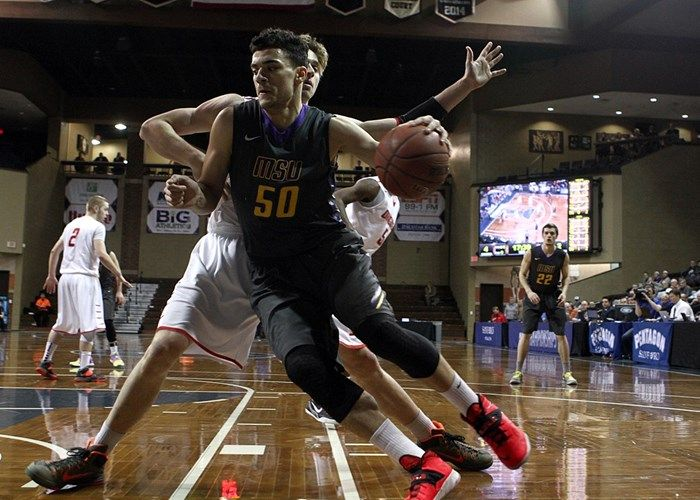 MSU men's basketball lose in last second shot Men's Basketball   Box Score Mankato Times SIOUX FALLS, S.D. --- Both Minnesota State and MSU Moorhead saw some clutch shots in the final seconds but it was the Dragons that got the last one to fall as they handed the Mavericks an 81-80 loss in the…