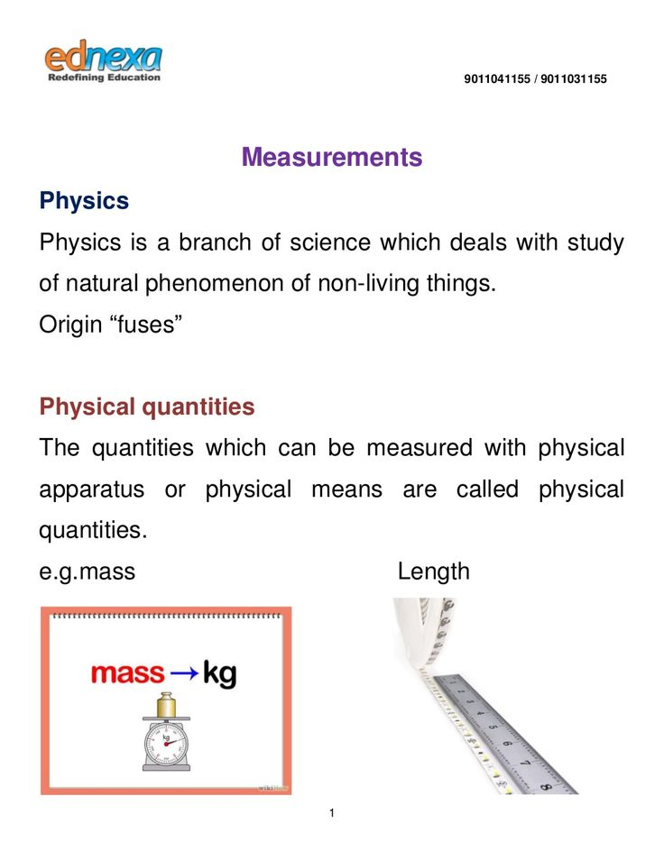 Physics Measurements Notes for #JEEMain2015 Click here to read: http://www.ednexa.com/jee-main-2015/physics-measurements-notes/
