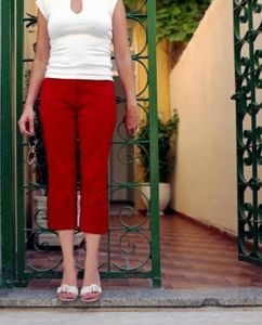 capris from t-shirt