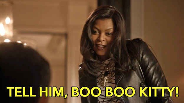 Coin a catchphrase… tell him boo boo kitty - Cookie - Fangirl - Empire