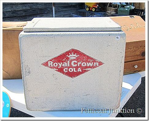 vintage royal crown ice chest