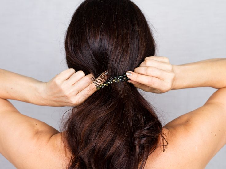 The Modern Boho: Step 2 | Colette Malouf on How to Use Hair Combs | Everywhere