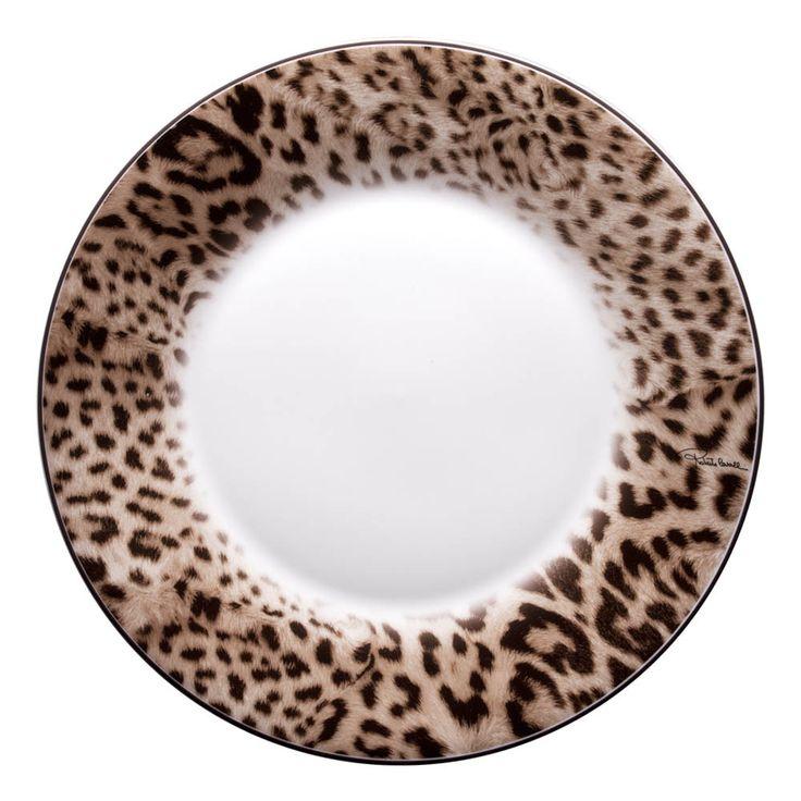 Roberto Cavalli Jaguar Dinner Plates -