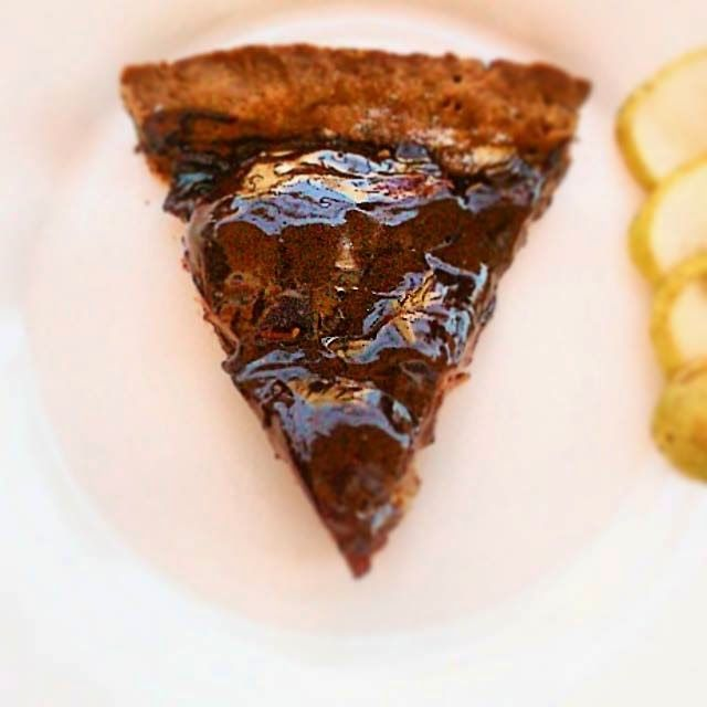 JeanneDôme: Τάρτα σοκολάτας με αχλάδια - Chocolate tart with pears -Chez Jeanne