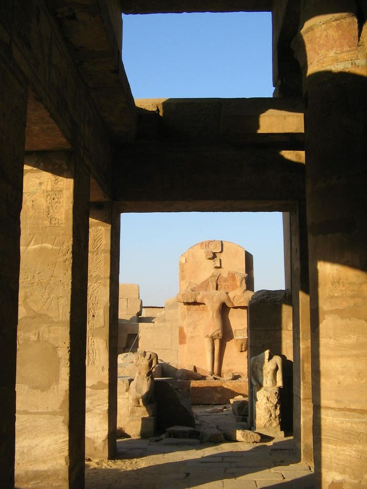 A portion of the Luxor Temple was converted into a Christian Church. Photo: David Yustin