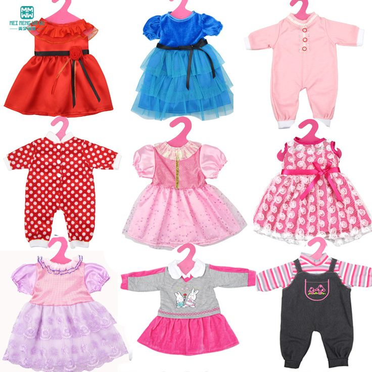 style Popular 18 inch(45cm) American girl and our generation doll clothes/dress for girls gift
