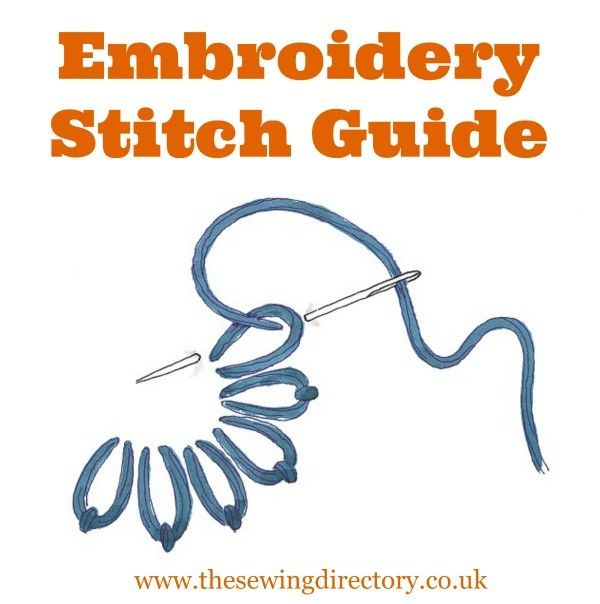 A guide to embroidery stitches