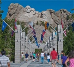 Took a road trip to Mt Rushmore, S.Dakota from Colorado in 2010. It was well worth the very long drive.